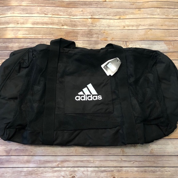 5a3716d4bc9b adidas Other - Adidas Team Carry XL Black Duffel Bag